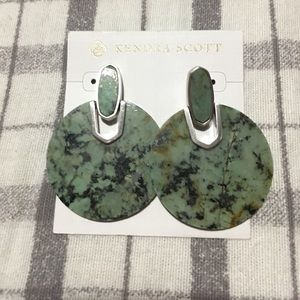 Kendra Scott African Turquoise Drop Earrings